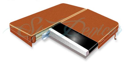 Couverture thermic rigid spa cover cubierta termica ebay - Couverture thermique spa ...