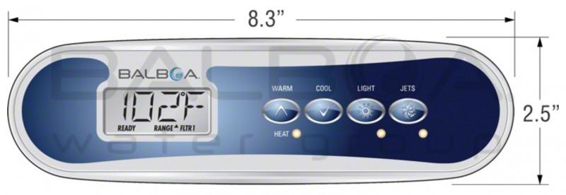 Control panel Balboa TP400