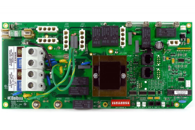 Placa base para electronica Balboa GS510SZ