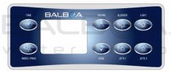 Membrane autocollante panneau de commande Balboa VL801D
