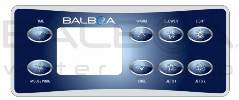 Overlay sticker Panel of control Balboa VL801D