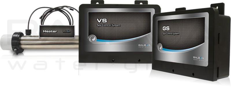 Electronica Balboa GS100 / VS100 con calentador Balboa