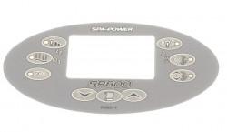 Overlay Panel de control SpaPower SP800