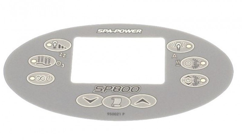 Membrane panneau de commande SpaPower SP800