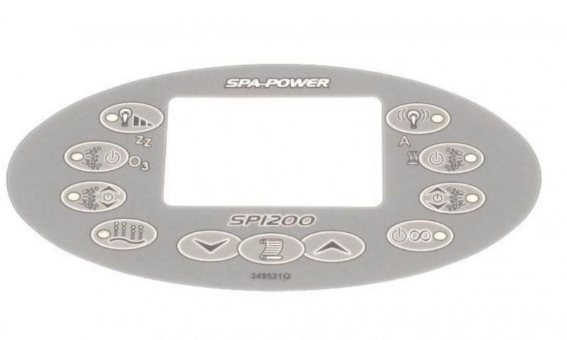 Membrane panneau de commande SpaPower SP1200
