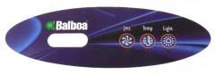 Overlay panel de control Balboa VL200 con 3 botones