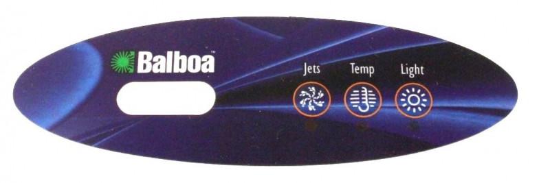 Membrane pour panneau de commande Balboa VL200 (3 touches)