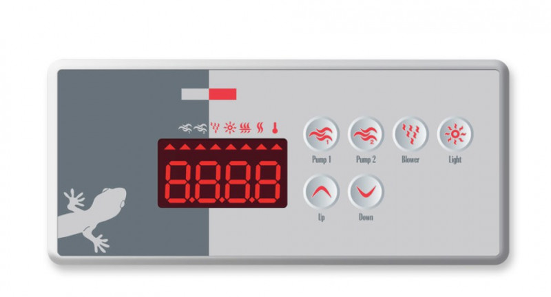 Panel de control TSC-8-GE1