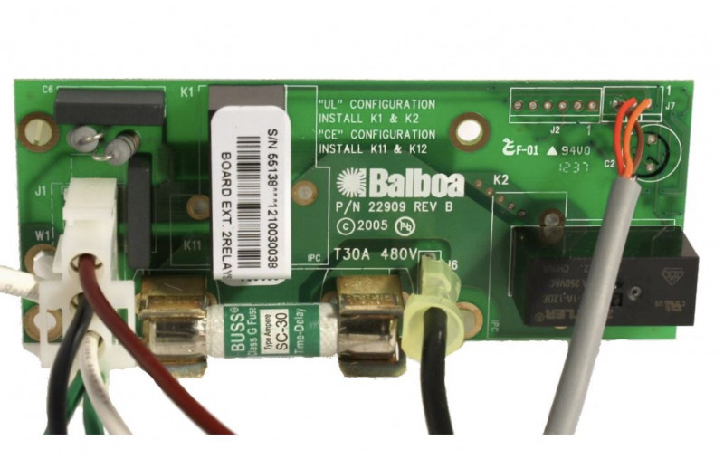 Placa de extención 55138 para GS523DZ Balboa